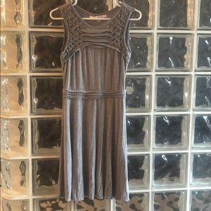Max Studio Grey dress sleeveless tank summer